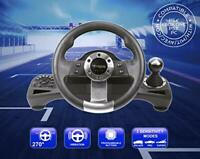 New - Drive Pro Sport Wheel with pedals and gear-shift (PlayStation, Xbox)