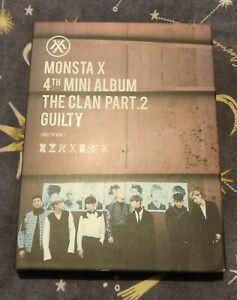 Monsta X The Clan Part 2 Guilty Album Guilty Version Official KPOP