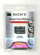 Scheda di memoria Sony memory stick MS Pro Duo 256 Mb - Memory card