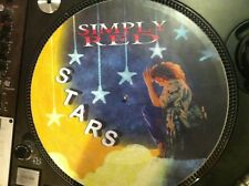 """Simply Red - Stars Ultra Rare 12"""" Picture Disc Single Promo LP Japan"""