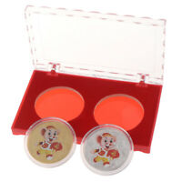 2pcs/box 2020 rat Souvenir Coin Chinese Zodiac Commemorative Coin New Year gi I1