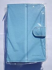 Blue Android Tablet PC PU Leather Carry Case Stand for COBY-KYROS MID1126-4G