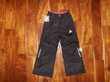 NWT Girls ZeroXposur Black Snow Pants Size 5/6
