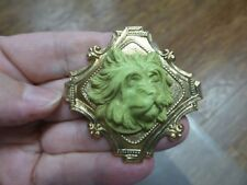 (CM100-8) Yorkshire Terrier puppy Westie DOG CAMEO Pin Pendant Jewelry brooch