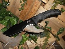 Survival knife/Bowie/M-tech Extreme/Full tang/Heavy duty/Hunting/4MM/440C/Zombie