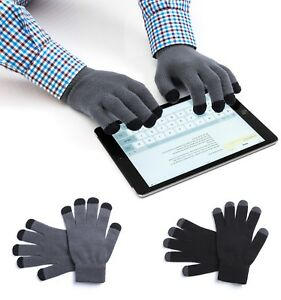 Touch Screen Gloves - Adults Knitted Smart Phone iPhone iPad All fingers/thumbs