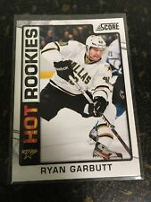 SCORE HOCKEY 2012-13 RYAN GARBUTT HOT ROOKIES CARD 511 DALLAS STARS NEAR MINT