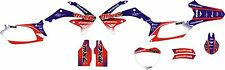 MXC Graphic Kit bleu rouge rmz450 09