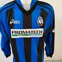 RARE maillot de football ATALANTA DE BERGAME vintage  asics ITALIE xl  Porté