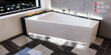 The North Bath DOCCIA Eckbadewanne Eck Badewanne 150 160x100 Rechts Links Ablauf