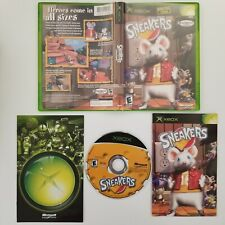 Sneakers Microsoft Xbox Video Game Complete Free Shipping