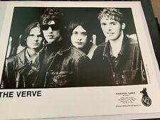The Verve A Northern Soul Press Kit with Photo Rare