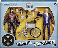 Hasbro Marvel Legends Series X-Men Magneto and Professor X Action Figures 2 Pack