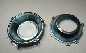 Brand New Light Headlight Headlamp Inner Bucket MGB MG Midget  Pair 560-215 x2
