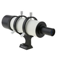 MagiDeal 9X50mm Guide Scope Finderscope & Mounting Bracket A for Telescope