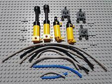 Lego technic Technik pneumatik pneumatic set  Pumpe Zylinder schlauch etc