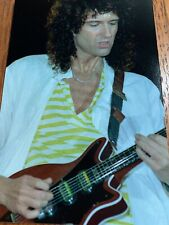 Band Queen picture Brian May Lovers Guitar gloss photo concert caught in act Nr