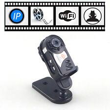 Mini Wireless Wifi IP Camera Network Remote Spy Hidden Night Vision Cam Webcam
