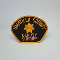 Umatilla County Deputy Sheriff Police Patch Crest Badge Logo 4.25 X 3.25 Inches