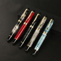 Fountain Calligraphy Pen Flexy G Nib Golden Modification Circular Flower Body