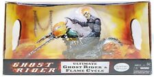 """Hasbro Ultimate Ghost Rider & Flame Cycle 12"""" Poseable Figure NRFB"""