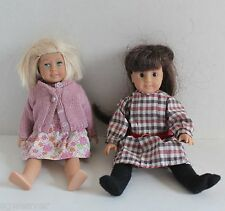 Mini American Girl Dolls Kit And Samantha
