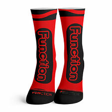 Function - Red Crayon Socks Funny costume Halloween crayola color matching