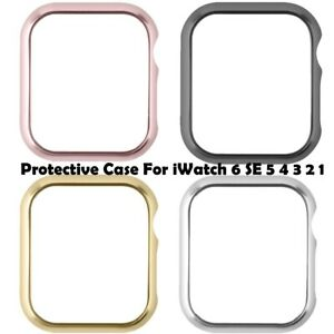 2PCS Smart Watch Case For iWatch Bumper Cover Frame Protector For Apple 6 5 4 32