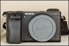 Sony Alpha a6300 24.2MP Digital SLR Camera - Black (Body Only) - Mint 650 Clicks