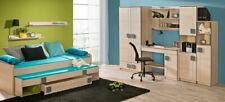 Jugendzimmer Kinderzimmer Schrank mit Schreibtisch Büro Schrankwand Eiche NEU