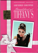 BREAKFAST AT TIFFANY'S The ANNIVERSARY EDITION on DVD of ROMANTIC Comedy CLASSIC