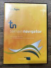 MyTopo Terrain Navigator Software Oklahoma Usgs Topographic Maps Gps Windows Euc