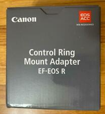 NEW Canon Mount Adapter Control Ring EF-EOS R - R5, R6 ,R,RP(2972C002) to EF USA