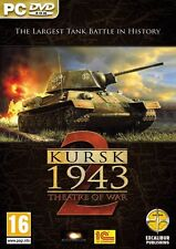 Theatre of War 2 - Kursk (PC DVD) NEW & Sealed