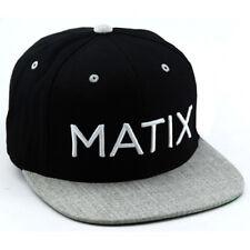 Matix Monoset Hat (Black)
