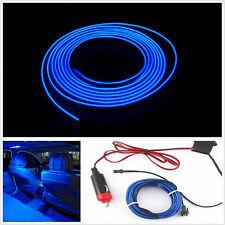 2M BLUE Cold light lamp Car Atmosphere Ambient Lights Unique Decor 12V EL Wire