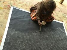 ABORIGINAL ART PAINTING by LILY KELLY NAPANGARDI SAND HILLS (TALI) Authentic WIP