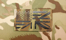 Infrared Multicam US/UK Friendship Flag Patch IR USA UK USSF UKSF VELCRO® Brand