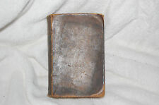 ANTIQUE HOLY BIBLE 1841