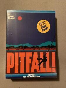 Vintage Pitfall I Atari 5200 Activision Factory Sealed New