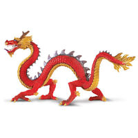 Horned Chinese Dragon Fantasy Figure Safari Ltd Toys Educational High Quality