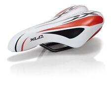 XLC Kinder -/Jugend - Sattel SA-C01 Unisex 245x150mm weiß / rot Bike Rad Fahrrad