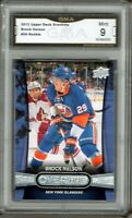GMA 9 *Mint* BROCK NELSON 2013/14 UD Upper Deck OVERTIME ROOKIE Card ISLANDERS!