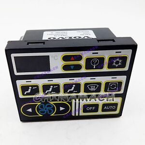 Air Conditioner Controller 14631179 for Volvo Excavator EC210 EC290 EC360 EC360L