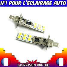 2 AMPOULES H1 5630 12LED SMD BLANC 6000K HALOGENE XENON LAMPE PHARE FEUX TUNING