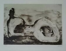 Henry Moore Original Lithograph S/N