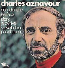 Charles Aznavour-Non Identifie vinyl single Ep