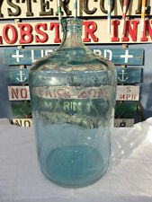 SUPER RARE BASTANCHURY WATER CO 5 GALLON CARBOY GLASS WATER BOTTLE (B619)