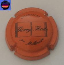 Capsule de Champagne HOTTE THIERRY Fond Orange et Noir n°16 !!!!!
