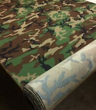 By Meter RIP-STOP Polycotton Fabric PENCOTT GREENZONE Camouflage Cloth